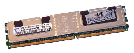 HP 398706-051 Samsung 1GB PC2-5300F CL5 Server FB-DIMM | M395T2953EZ4-CE66